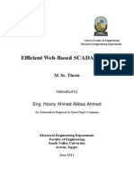 Eifficient Web-Based SCADA System