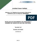 MCVS-AD-05 Documento de Analisis y Diseño de CUS