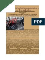 Crítica Marxista Leninista - Sindicalismo Clasista