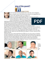 UNP a Changing of the Guard