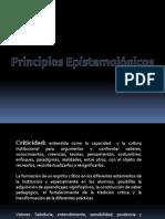 Principios Epistemológicos