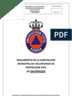 REGLAMENTO Protección Civil Galápagos