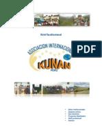 Brief Institucional de LA ONG KUNAN 2010-1