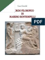 Grecchi Luca - Ricordo Filosofico Di Massimo Bontempelli