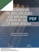 La Elaboraci n Del Plan Estrat Gico y Su Implantaci n a Trav s Del Cuadro de Mando Integral 1 to 40-1