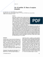 Effects of crystallinity of goethite. II. Rates of sorption and desorption of phosphate.pdf