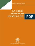 La crisis monetaria española de 1937
