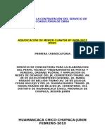 Bases Pav. Huamancaca