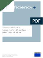 Brochure Resource Efficiency