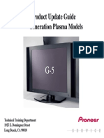 Pioneer-Presentation G5 Product Update Guide 5th Generation Plasma Models
