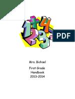 bichsel first grade handbook revised 2031-2014