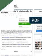 Removendo a senha de administrador do Windows - SEU TUTORIAL.pdf
