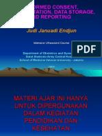 USG Intensif 12. Informed Consent, Documentation, Data Storage & Reporting JJE 20090301