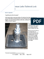 Atlas – Craftsman Lathe Tailstock Lock Modification