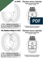 Thirteen Moon Calendar