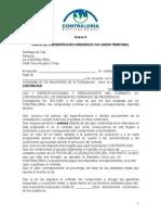 Carta Presentacion Union Temporal o Consorcio