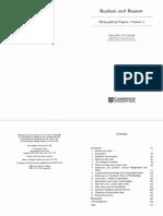 Putnam Realism and Reason