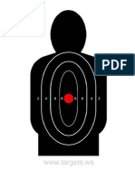 Silhouette Target 1