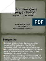 SQL Bag 3 Join Tabel