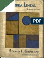 Libros de Algebra Lineal Grossman
