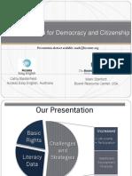 Plain Language for Democracy and Citizenship