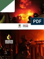 Brochure y agenda Encuentro Iberoamericano de Profesionalización Bomberil y Nuevos Escenarios de Riesgos