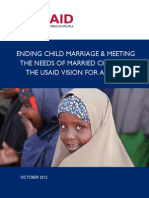 Ending Child Marriage 2012