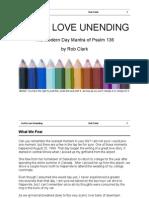 God's Love Unending