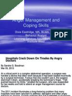 Anger Management BIAC 2013