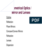 Lecture Notes 7- 203 Optics