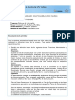 DESCRIPCIÓN DE ACTIVIDADES 1
