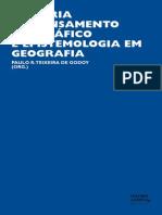 HISTORIA DO PENSAMENTO GEOGRÁFICO E EPISTEMOLOGIA EM GEOGRAFIA