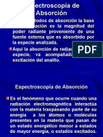 Espectroscopía de Absorción y leyes