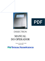 Dissectron Manual Do Operador