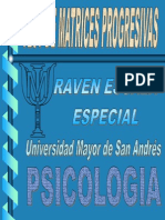 Test - Raven Matrices Progresivas (1)