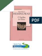 Ernest Hemingway - O Jardim do Éden