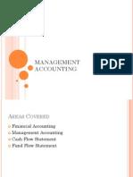 MCA Management Accounting Presentation