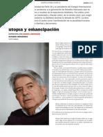 Abensour, M. Utopia y emancipación