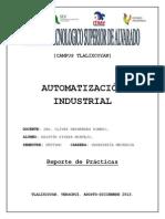 Reporte de Automatización