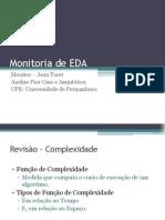Monitoria de EDA - Aula 01 - PIOR CASO E ASSINTÓTICA
