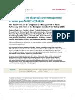 Guidelines2008 ESC Acute Pulmonary Embolism Full