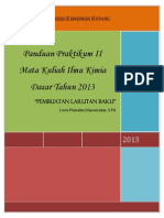 BUKU PEDOMAN DAN PANDUAN PRAKTIKUM ilmu kimia dasar 2013 percobaan II.pdf