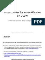 Guide Uccw Tasker