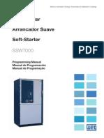 WEG Ssw7000 Arrancador Suave 10001038274 Archivo Configuracion Espanol