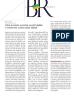 Jornalismo Especializado Cienciacultura Cotas Univ