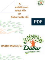 Dabur - Product Mix 1