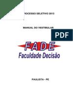 Fade Manual 2013.1