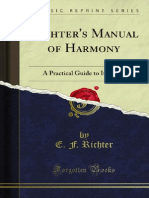 Richter's Manual of Harmony