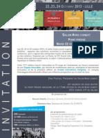 #Vad.conext - Invitation point presse inaugural de la 17e édition du salon