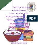 Proyecto Yogurt